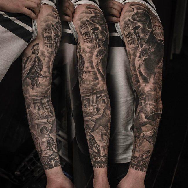 Warrior Tattoo 38