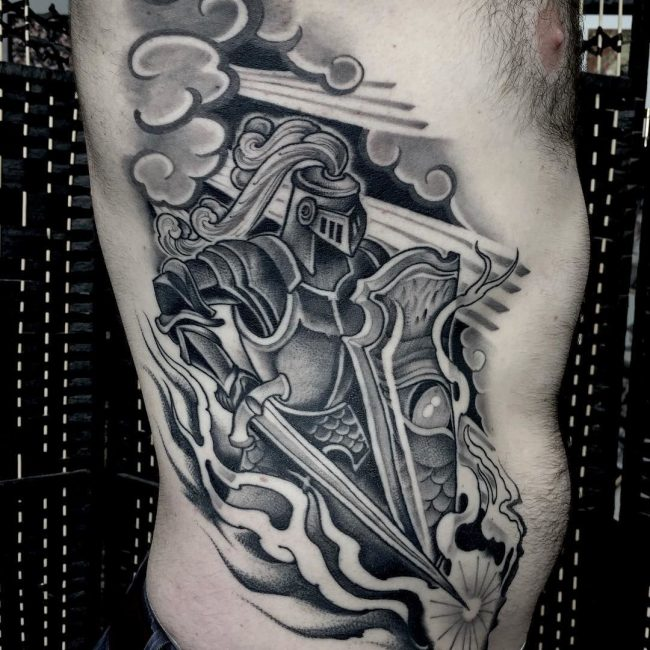 Warrior Tattoo 41