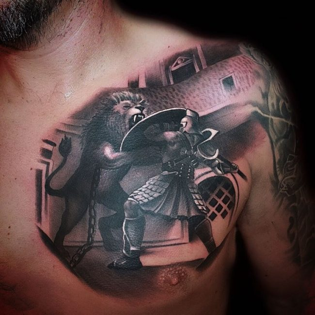 Warrior Tattoo 44