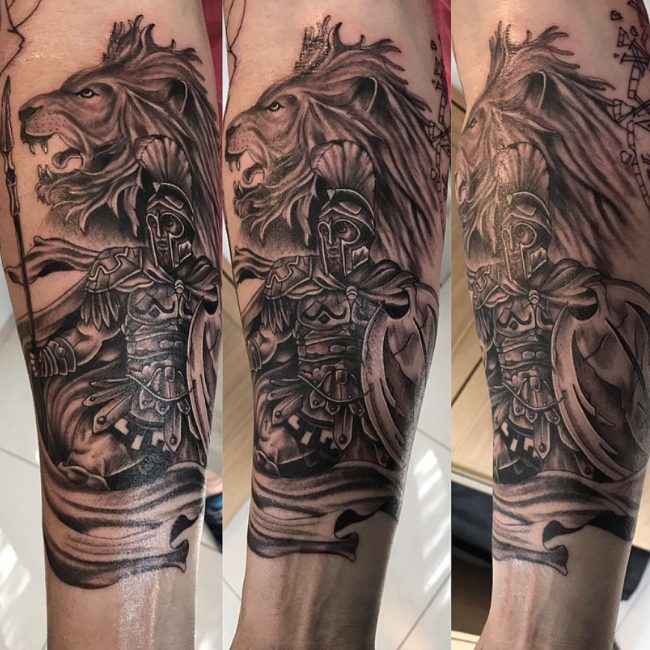 Warrior Tattoo 45