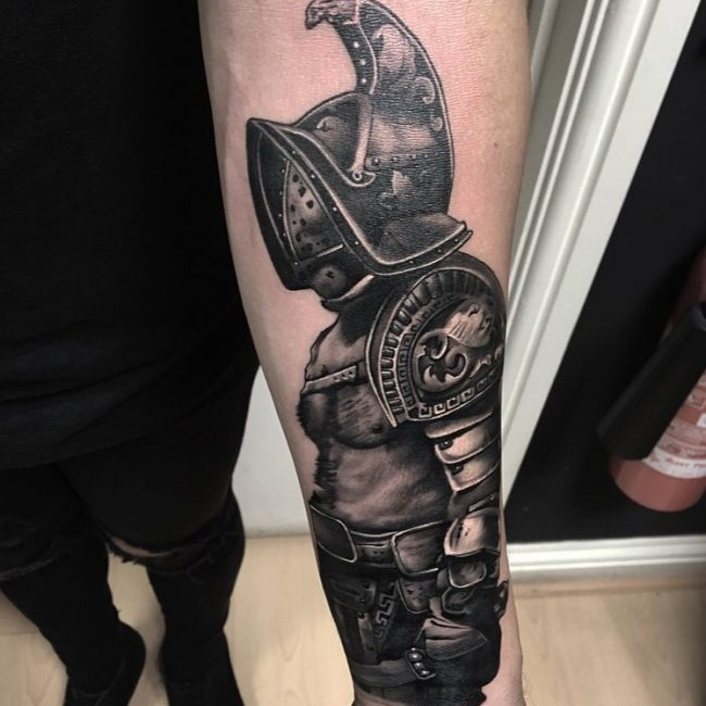 Warrior Tattoo 46