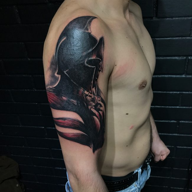 Warrior Tattoo 47