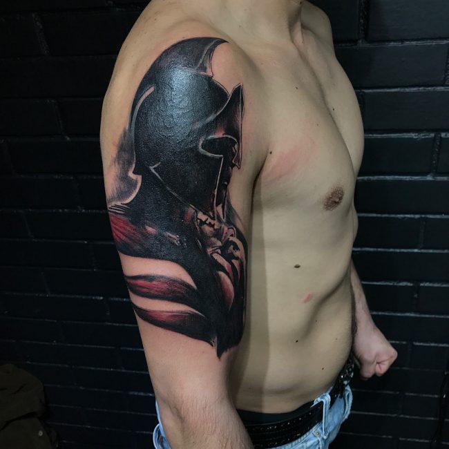 Warrior Tattoo 47