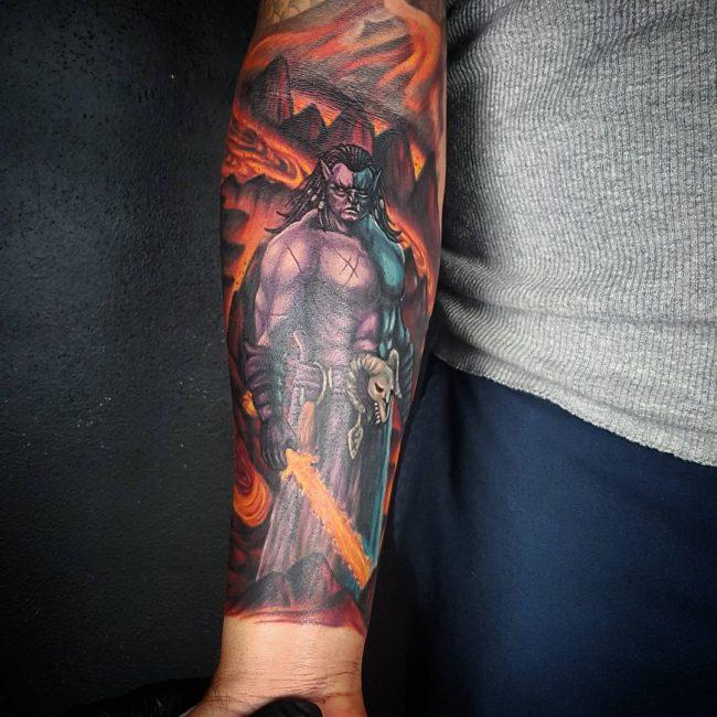 Warrior Tattoo 49