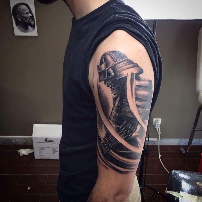 Warrior Tattoo 50