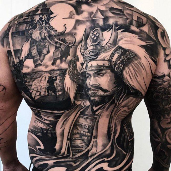 Warrior Tattoo 51
