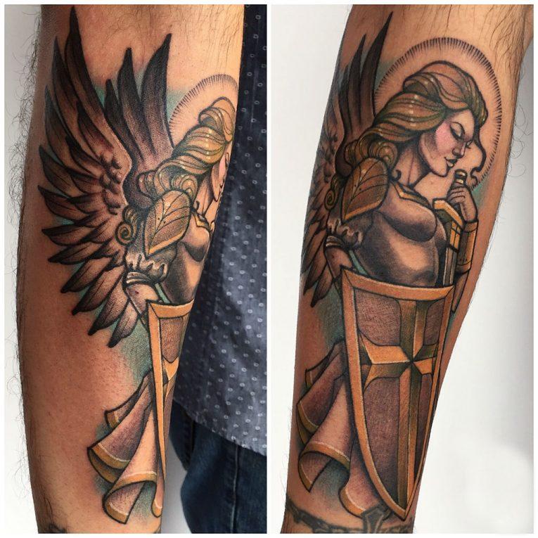 Warrior Tattoo 53