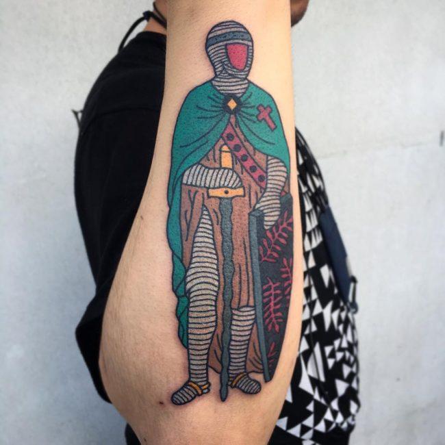 Warrior Tattoo 54