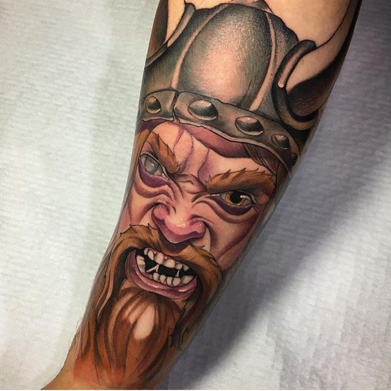 Warrior Tattoo 57