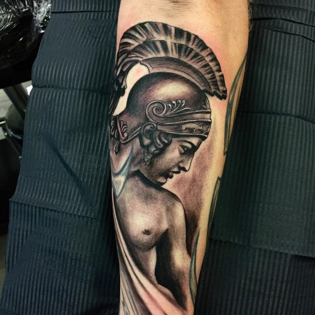 Warrior Tattoo 59