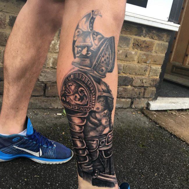 Warrior Tattoo 60