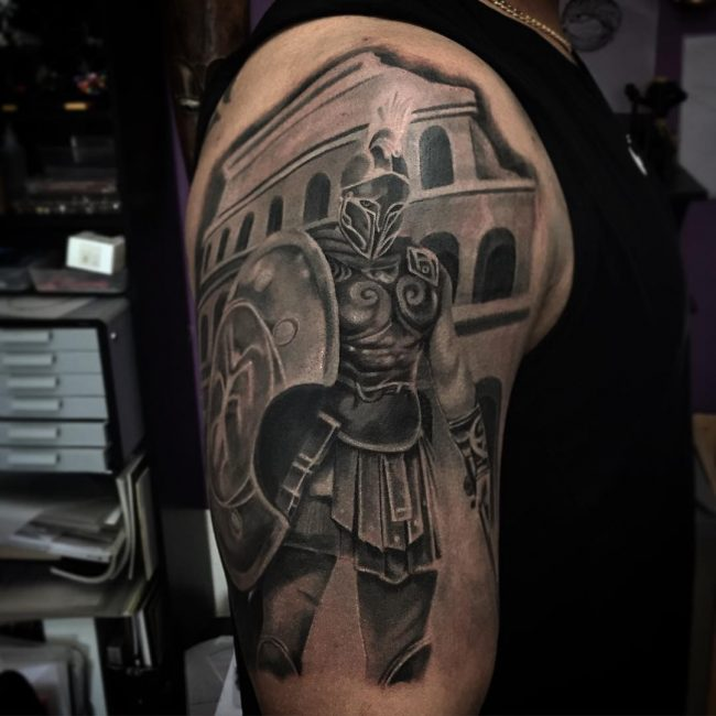 Warrior Tattoo 61