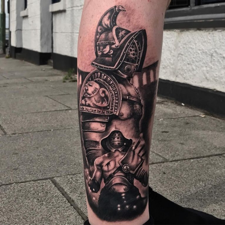 Warrior Tattoo 62