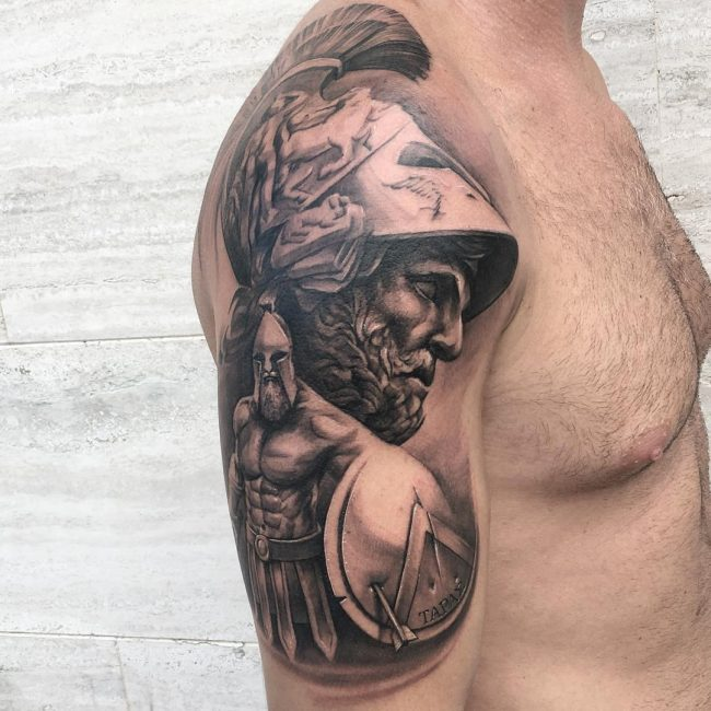 Warrior Tattoo 63