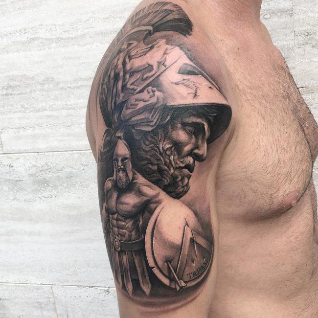 Warrior Tattoo 63