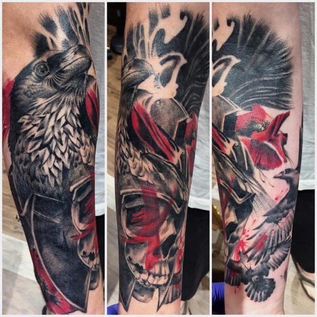 Warrior Tattoo 64