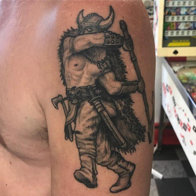 Warrior Tattoo 65