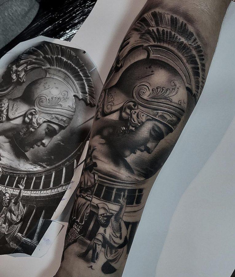 Warrior Tattoo 66