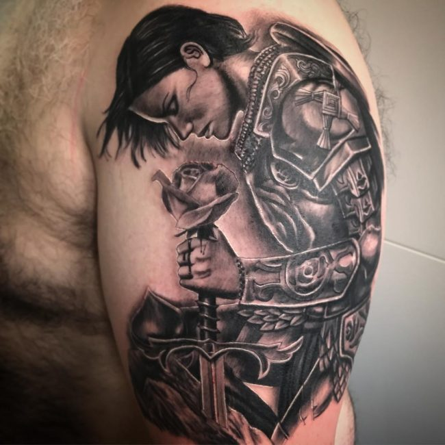 Warrior Tattoo 67