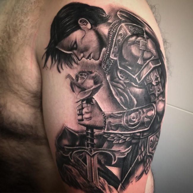 Warrior Tattoo 67