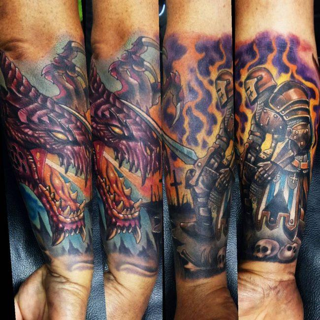 Warrior Tattoo 68