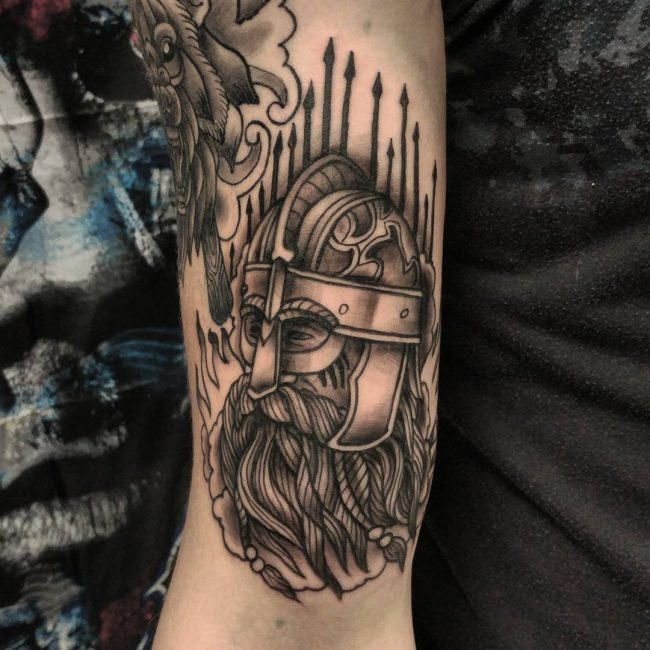 Warrior Tattoo 69