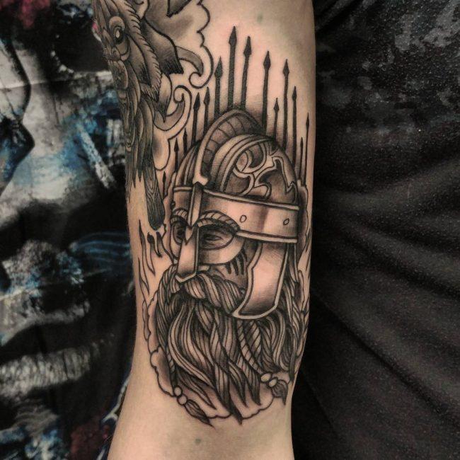 Warrior Tattoo 69