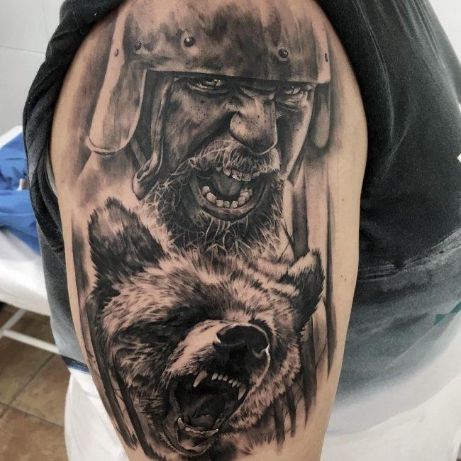 Warrior Tattoo 7