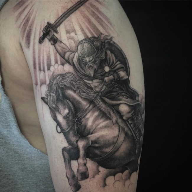 Warrior Tattoo 70