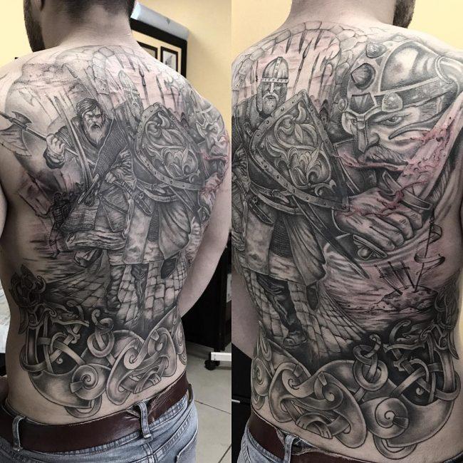 Warrior Tattoo 71