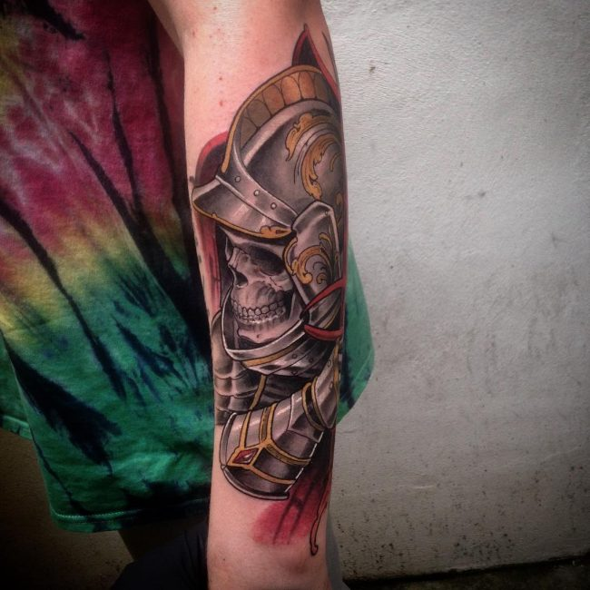 Warrior Tattoo 73