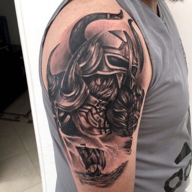 Warrior Tattoo 75