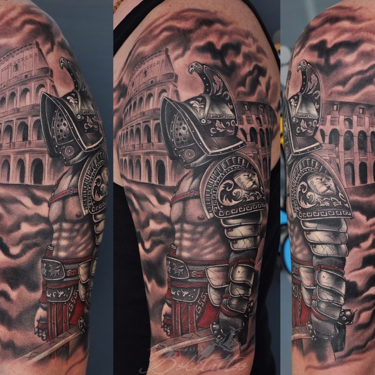 Warrior Tattoo 76