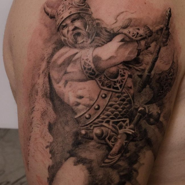 Warrior Tattoo 8