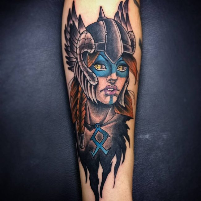 Warrior Tattoo 80