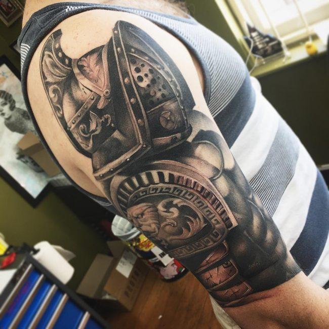 Warrior Tattoo 82