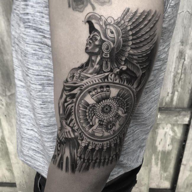 Warrior Tattoo 83