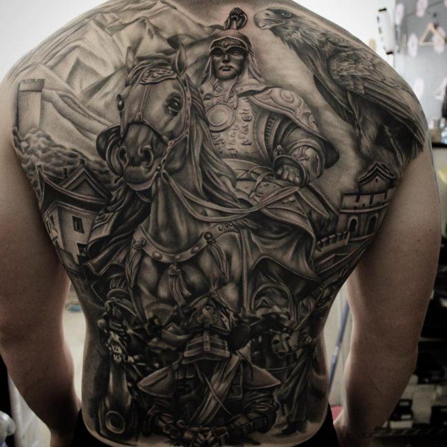 Warrior Tattoo 87
