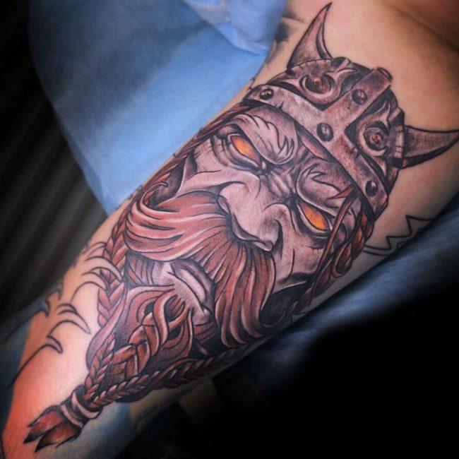Warrior Tattoo 9