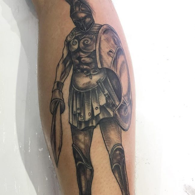 Warrior Tattoo 90