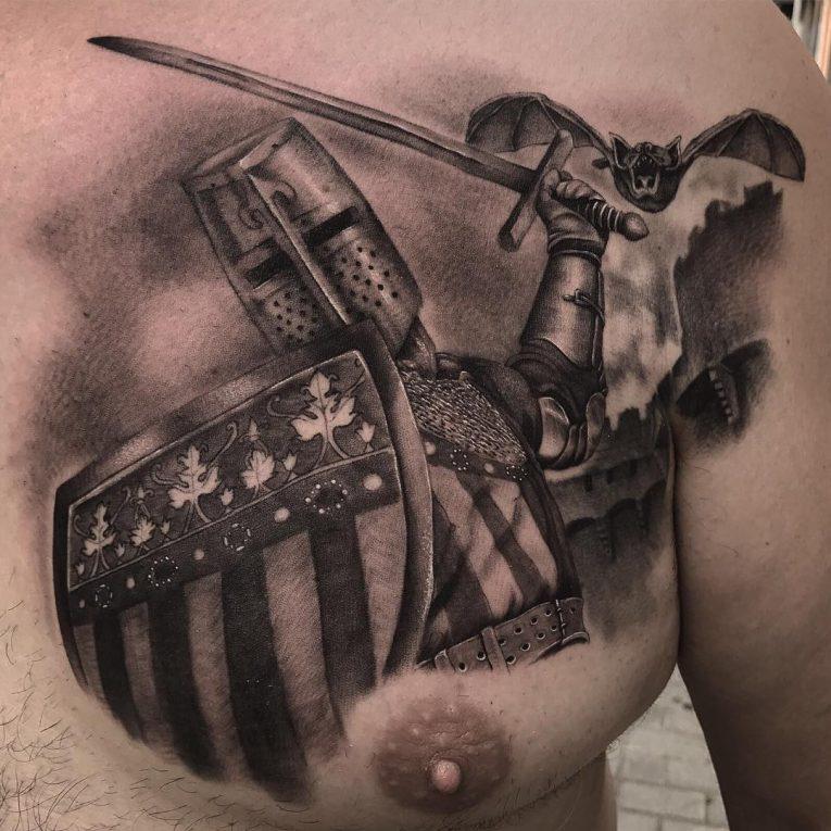 Warrior Tattoo 91