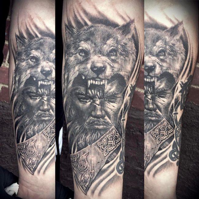 Warrior Tattoo 93