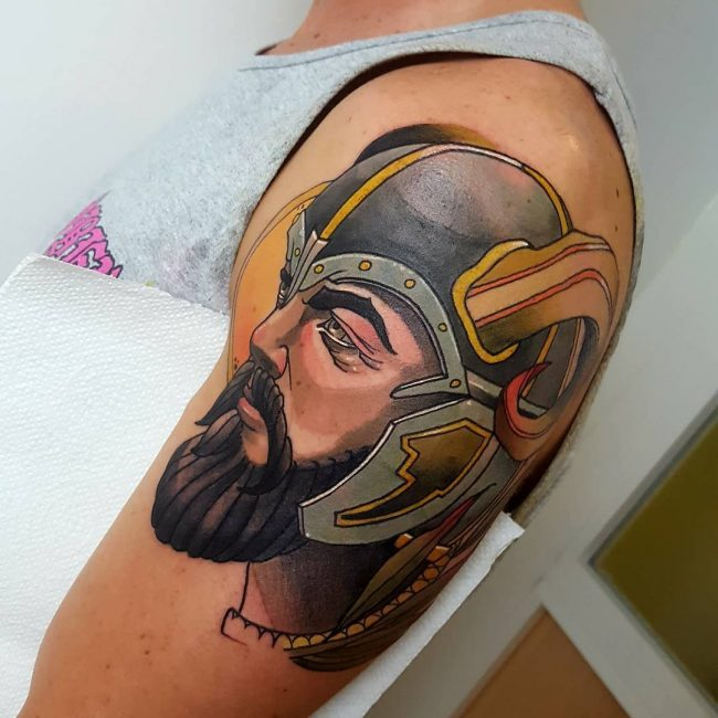 Warrior Tattoo 94