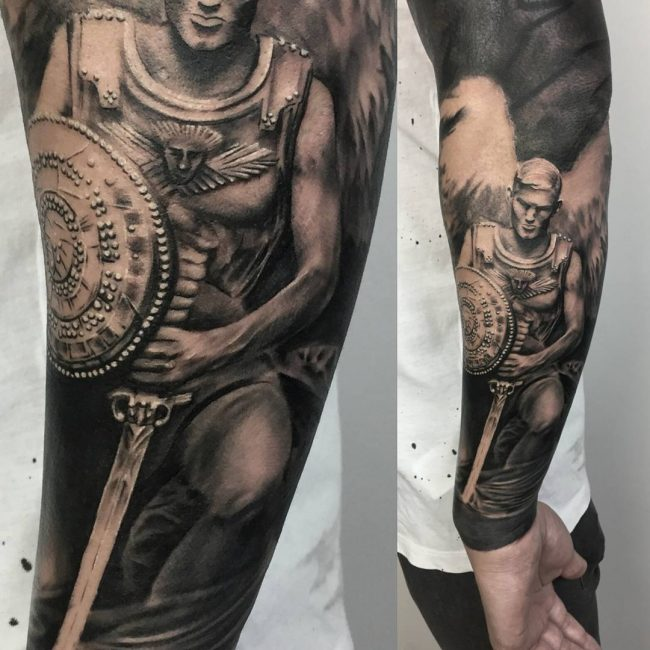 Warrior Tattoo 95