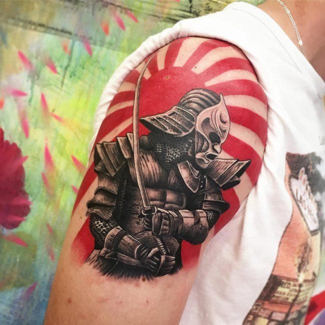 Warrior Tattoo 96