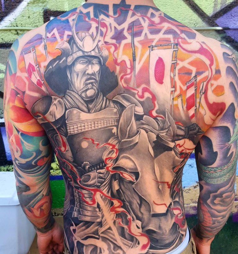 Warrior Tattoo 97