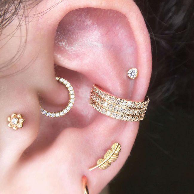 Conch Piercing 11