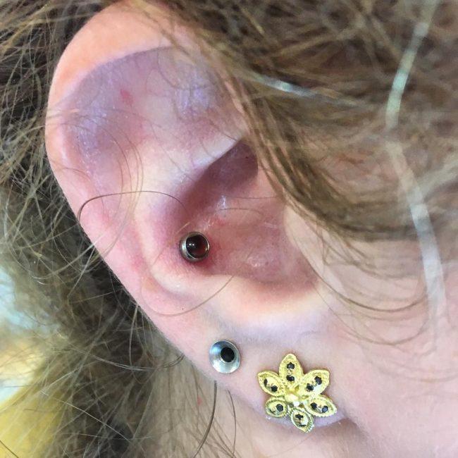 Conch Piercing 18