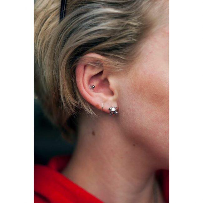 Conch Piercing 2