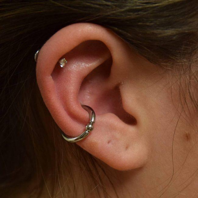 Conch Piercing 24